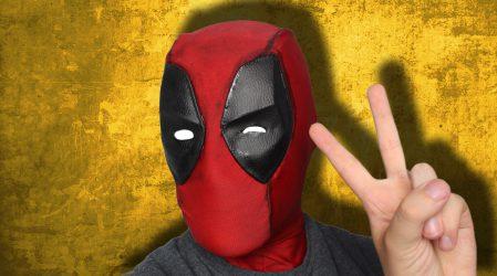 Zrobiłem maskę Deadpoola!